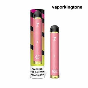 2020 New Puff Bar débit à usage unique Vape 1000 bouffée préremplies 4 ml 600amh batterie de Vape kits de démarrage Puffbars Puff Bars E Cigares