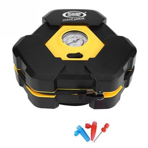 12V Car Electric Air Compressor Portable Tire Inflator Pump Air Compressor with Needle Indicator Car Styling