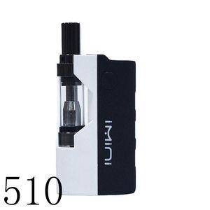 510 e cigarette cartridge preheat mod vaporizer starter kit glass tank 0.5ml pyrex tank smoking kit adjustable voltage VMOD VAPORIZER IMINI