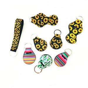 Batom luva Mergulho material Muitos Estilo Titular Chapstick Capa Eco-friendly Key Buckle Cadeia Set Printing Hot Selling 1 p1 5ny