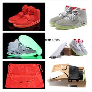 kanye west Y II 2 Turnschuh Skateboard althetic schuhe Rote schwarze Turnschuhe Schuhe Basketballschuhe Größe 40-45