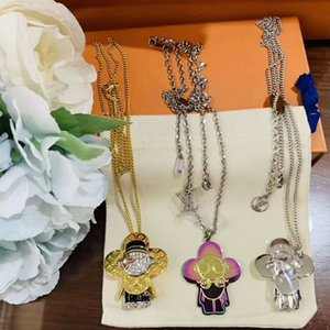 New hot selling Sunflower personality jewelry necklace Fashion wild neutral necklace