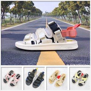neue Sommer-Sandalen Strand Pantoffeln Mode Turnschuhe Sohlen rutschfeste Massage Schwarz-Weiß-Männer und Frauen mehrfarbige starke untere SDL750 330