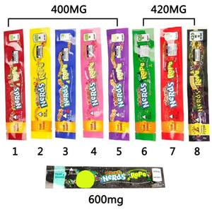Empollones cuerda Mylar bolsa de 9 colores 400mg 420mg 600mg mismo sello de la bolsa de hierba seca de tabaco al por menor de flores