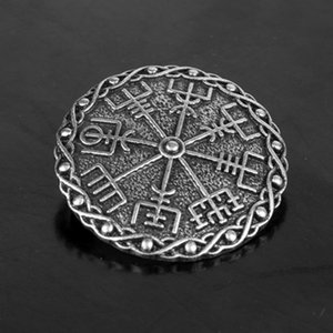Celtic Viking Shield Brooch Badge Norse Brooch Clothes Fasteners-Cloak Shawl Scarf Pin Lapel Pin (8 Styles to Choose)