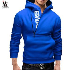 Sweats Homme Printemps Mode Survêtement Sweat-shirt col hiver chaud hommes Cap Manches longues Sweatshirts capuche