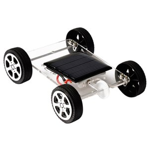 Novelty DIY Assemble Toy Set Solar Powered Car Gadget Hobby Science Educational Kit for Kids