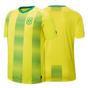 2020 FC NANTES soccer jersey 2020 men home football shirt sponsorless jerseys camiseta de fútbol maillot de foot camisa de futebol Fans Tops