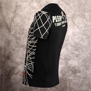 20ss mens moda verão tshirt das mulheres 2020 algodão de manga curta de diamante Impresso Phillip Plain camisetas 02