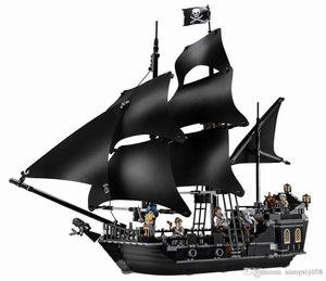The Black Pearl Судовые Совместимые корабли Legoinglys Пираты 4184 4195 Caribbean модель строительных блоков Мальчики Рождественский подарок Детские игрушки