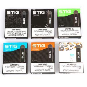 Authentic VGOD STIG Disposable Device Pod Starter Kit 270mAh Battery 1.2ml Cartridge Vape Empty Pen 7 Colors Genuine