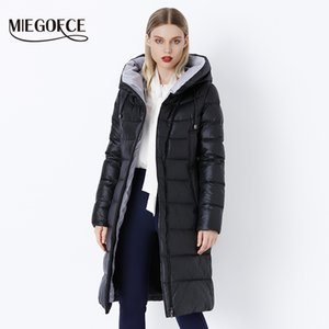 MIEGOFCE 2019 Coat Jacket Winter Women's Hooded Warm Parkas Bio Fluff Parka Coat Hight Quality Female New Winter Collection Hot T5190612