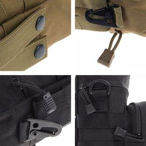 Camping Sport-Wasser-Beutel im Freien taktischen Militär Molle-System Flasche Bag Kettle-Beutel-Halter