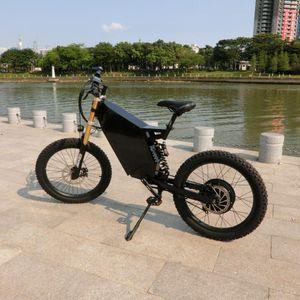 72V3000W5000W plus furtif bombardier vélo électrique eBike bombardier furtif eBike avec 30Ah au lithium-ion