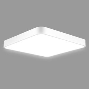 Ultra mince plafond LED plafond de la salle de bain de la salle de bain de la salle de bain de la pièce de séjour / blanc chaud dimmable