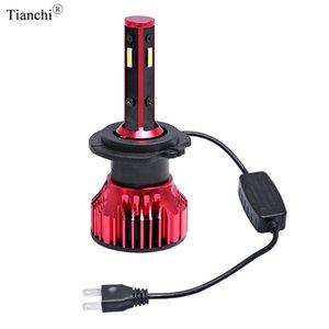 Автомобильная светодиодная фара H7 H4 LED H11 9005 9006 10000LM 6000K Auto LED Headlamp 4-side white color