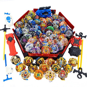 Top lanciatori Beyblade Set Giocattoli con Starter and Arena Bayblade Metal Brush God Spinning Top Bey Blade Blade Giocattoli Y200109