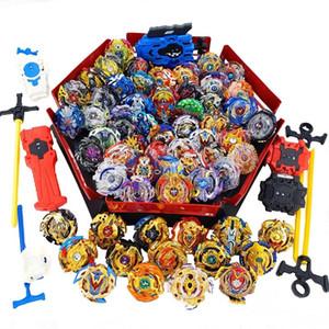 Tops Lançadores Beyblade Set Brinquedos Com Starter e Arena Bayblade Metal Burst God Spinning Top Bey Blade Blade Lâminas Brinquedos Y200109