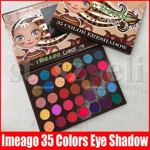IMEAGO Tasarımları Göz Makyaj Mat Eyeshadow Palet 35 renk Preseed Pigment Dumanlı Göz Gölge Palet