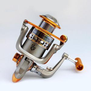 Rapporto di velocità 5,2: 1 mulinello da pesca con spinning in metallo GF1000-6000 Mulinelli da spinning Ocean Sea Boat Attrezzatura da pesca sul ghiaccio Mulinello da pesca a 12 assi ZZA548