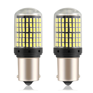 2PCS LED 1156 1157 BAY15D P21W BA15S PY21W BAU15S Ampoule voiture 2880Lm Turn signal lumineux 3014SMD pour Passat CC 2008 DropShipping