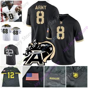 2020 Army Black Knights Jersey de fútbol americano universitario NCAA Kelvin Hopkins Jr. Christian Anderson Connor Slomka Artice Hobbs IV Riley Smith Walker