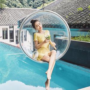 브랜드의 새로운 온천 수영 정장 드레스 원피스 Skirted 수영복 플러스 사이즈 아름다운 수영복