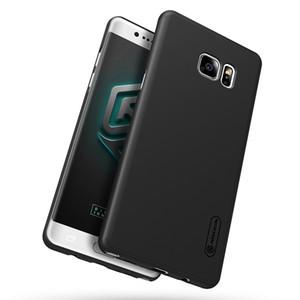 vente en gros Samsung Galaxy Note FE (édition Fan) NILLKIN Super bouclier givré couverture arrière avec cadeau