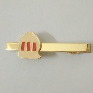 Individuelle gute Qualität Krawatte Monogrammed Bindung Metallmens Kragen Clips