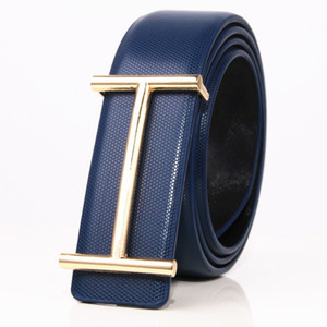 2017 men's Luxury Buckle Belt mens smooth buckle leather belts male high quality designer Brand ceinture mens Luxury belt Jeans 32-40in