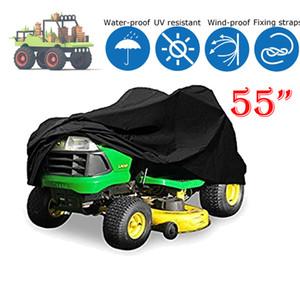 Tractor Heavy Duty Riding Lawn Mower impermeable protector de la cubierta Negro
