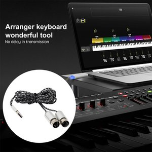 DIY Laptop 5pin Portable Interface Electric Piano USB IN-OUT Converter Plug And Play Musical Instrument Drum MIDI Cable Keyboard