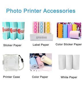 PeriPage PAPERANG Fotoğraf Yazıcısı Kağıtları Ofis Okul Malzemeleri İçin Yeni Termal Etiket kağıt Kağıt Etiket Kağıt