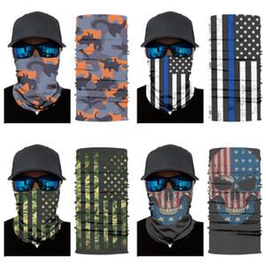 Multi Wear Headband Bandanas Tube Shape Army Camo Military Magic Sports Face Mask Neck Warmer Skull Scarf Hair Accessories #987#651
