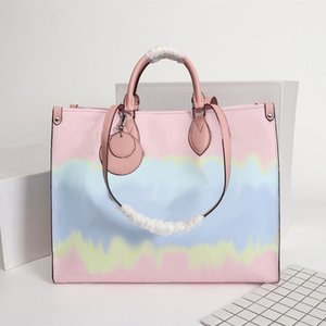 Donne Designer Borse Moda OnTheGo borse a spalla di lusso 3 combinazione di più modello di colore Onde Dimensioni 41x34x19cm M45120