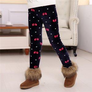 Plus Velvet Girls Leggings Thicken 3 Layers Children Pants Winter Leggings For KidsGirl Leggins Warm Baby Trousers