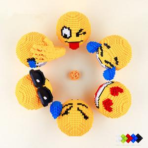 Blocos de construção Pequena Montagem De Partículas Brinquedos Assembléia Expressão Facial Brinquedo DIY Festa de Casamento Suprimentos