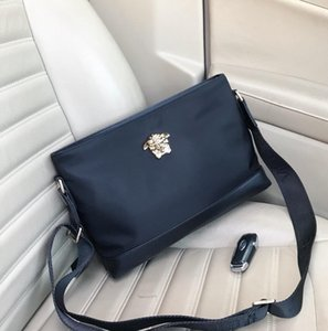2019 Fashion brand bag Sac à main Nylon shoulder strap lady clutch bag high capacity man women wallets female holder clutch 7038-6 31x21x5cm