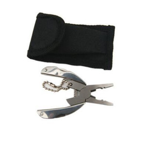 Pocket Multi Function EDC Tools Keychain Mini Folding Pliers Knife Screwdriver EDC Portable Pocket Tool CCA11070 50pcs