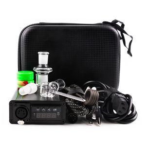 Günstige E Nagel Enail Kits elektrische Klecks Nageltemperaturregelung Feld 14mm 18mm männlichen Quarz Nägel 20mm Spule heate für dab rig