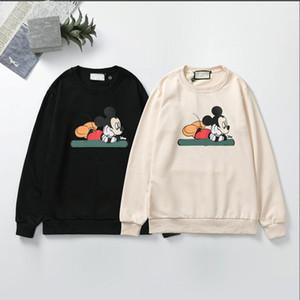 Otoño y del invierno 20 del algodón del collar suéter suéter piel camiseta suéter de color negro tamaño / albaricoque M-XXL