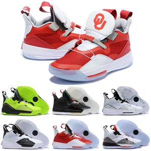 Nuove scarpe da basket Jumpman XXXIII PF 33 2019 Nuove scarpe da tennis di alta qualità BLACKOUT UTILITY Scarpe da basket uomo Taglia 40-46