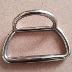 envío gratis acero inoxidable anillo en D botes de goma pesca asalto barco fundición anillo en D hebilla suspensión exterior bolsa de hardware parte