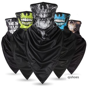 Extended non-ice silk quick-drying breathable skeleton triangle scarf anti-terrorism mask cs neck cover riding windproof sunscreen mask