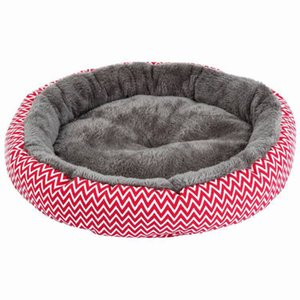 Animaux d'hiver Super Soft épaissie Teddy Dog Arctic Velvet chaud Dirty Cat Round Nest Y200330