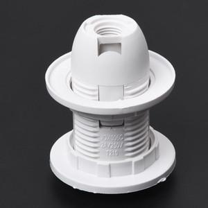 플라스틱 쉘 나사 유형 E14 전구 라이트 램프 홀더 소켓 AC 250V 2A 펜던트 소켓 전등 갓 링 5.8 X 4.3cm