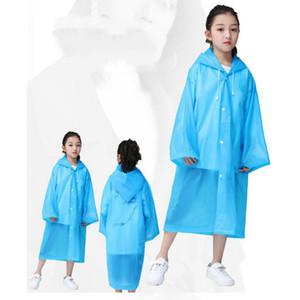 Kind-Regen-Zahnrad Kinder Isolation Schutz Splash 2020 Explosion Fest Farbe Regen-Mantel-Jungen-Mädchen-Außenschutzkleidung New