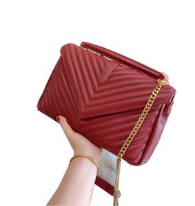 Berühmte Marke Designer-Handtaschen Art und Weise Luxuxumschlag Damen Ketten Schulterbeutel Kurierbeutel Frauen diagonale heißen Verkauf comewith Geschenk-Box