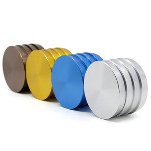 Dalga Seviyeleri Herb Öğütücü 4 Renkler 2.5 inç Duman Öğütücüler 4 Katmanlar Alüminyum Alaşım Sigara Kırıcılar Stokta 25 5mt E1