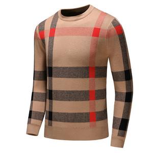 Outono e inverno dos homens camisola logística livres novo luxo dos homens de mangas compridas camisola Europeu e tendência marca de moda americano -11